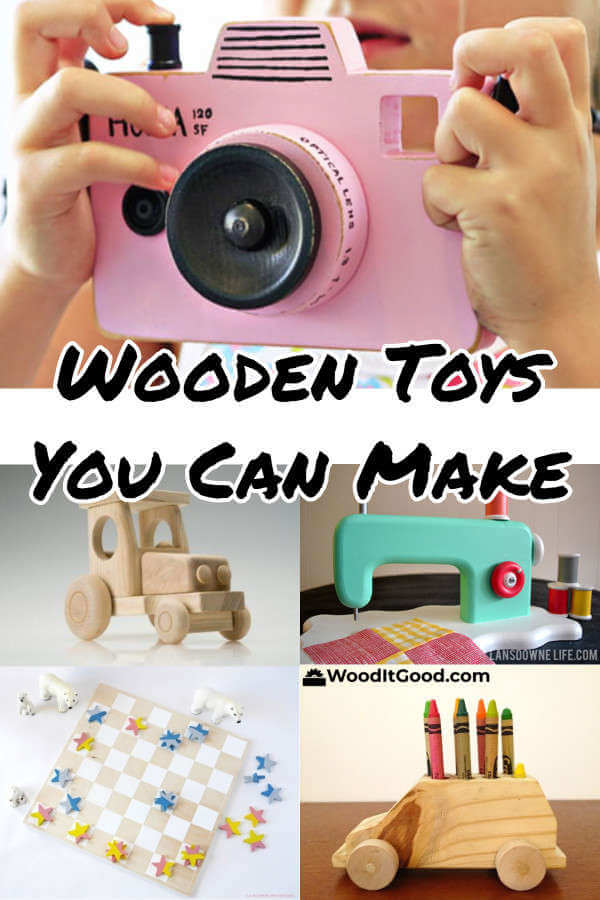 Wooden Toys To Make As Gifts For Christmas, Birthdays & Other Holidays.
