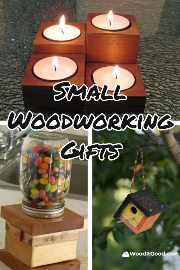 Small Woodworking Gifts For Beginning Woodworkers To Make.