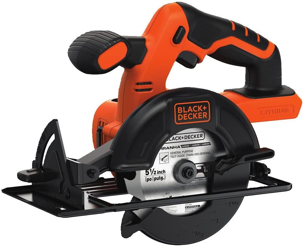 This Black and Decker cordless circular saw is perfect for those on a budget but with something portable.