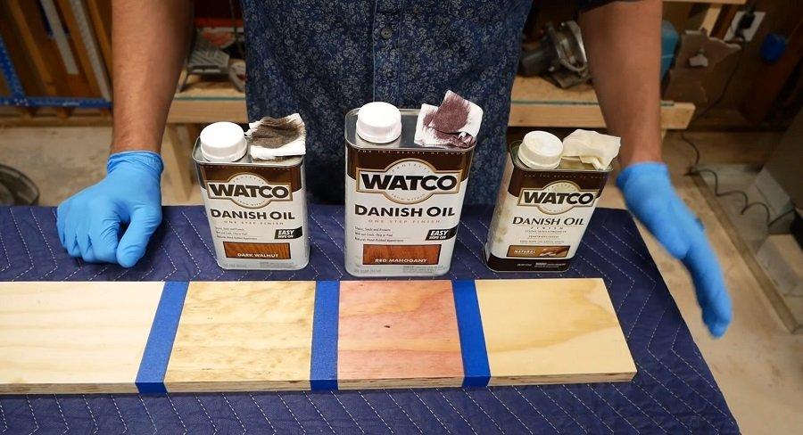 Danish Oil wood finish