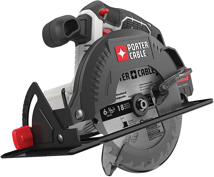 The Porter-Cable 20V Max is a circular saw without a cord, and it's one of the best circular saws around $50.