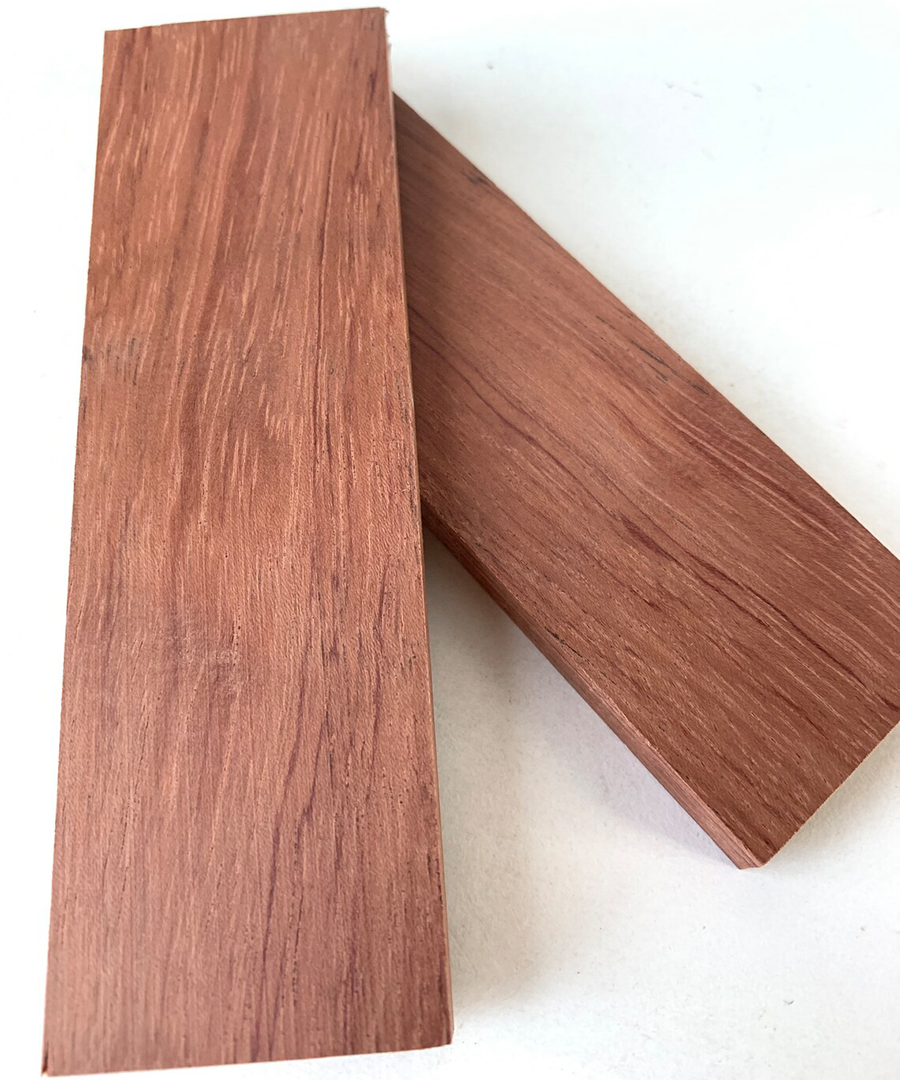 Bubinga is a lovely wood that goes by a few different names, and because of how large it can be, it's used a lot in making tables.