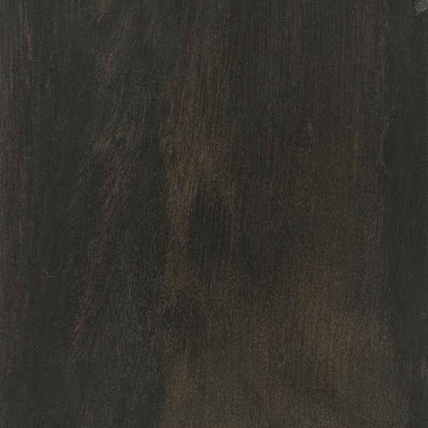 A close up of this ebony wood, showing off it's lovely color and grain.