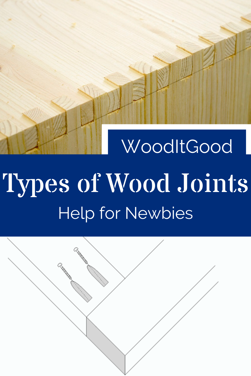Types of Wood Joints, help for newbies!