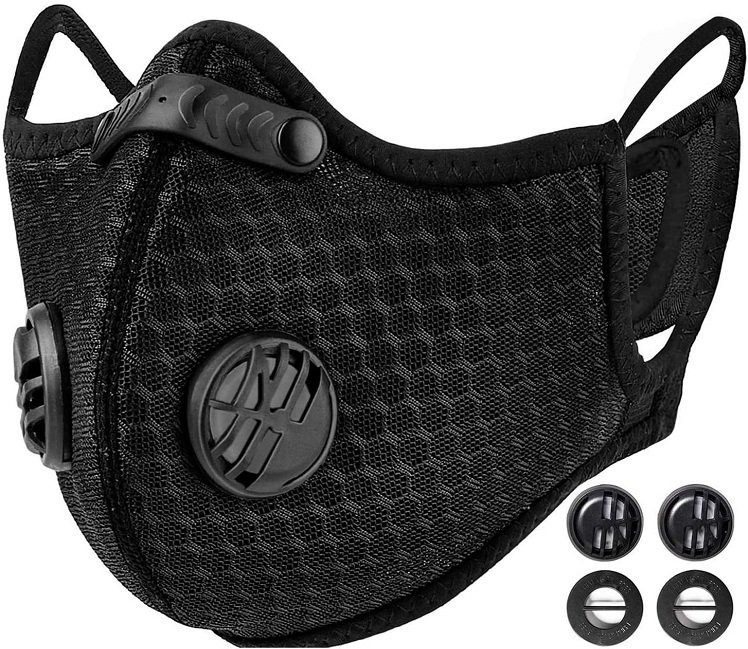 This is a dust mask.  Don't let sawdust or any other pesky particulates into your lunges.