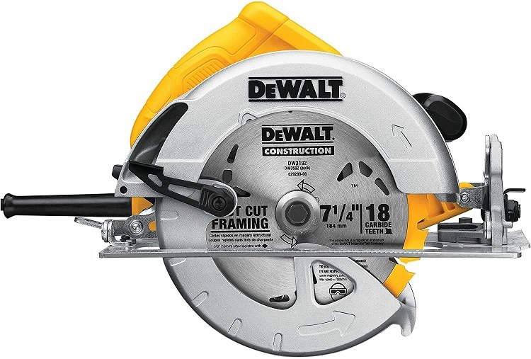 This is a circular saw!  It's one of the more simple but effective of the power tools.