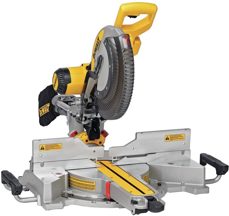 This is a miter saw, a much more intense version of the miter box.  It can do more and a bit faster, but at a higher price.