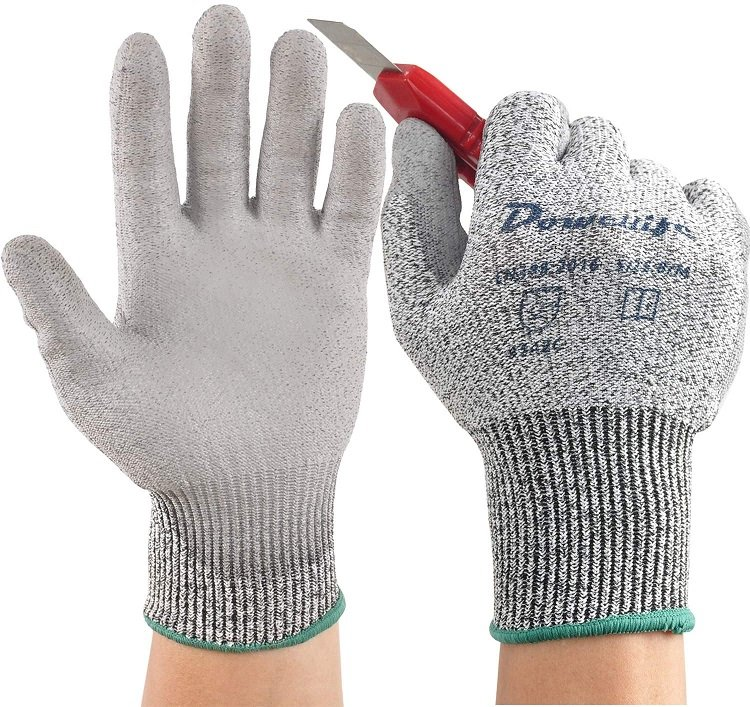 These are gloves to keep your hands safe while working with sharp equipment.
