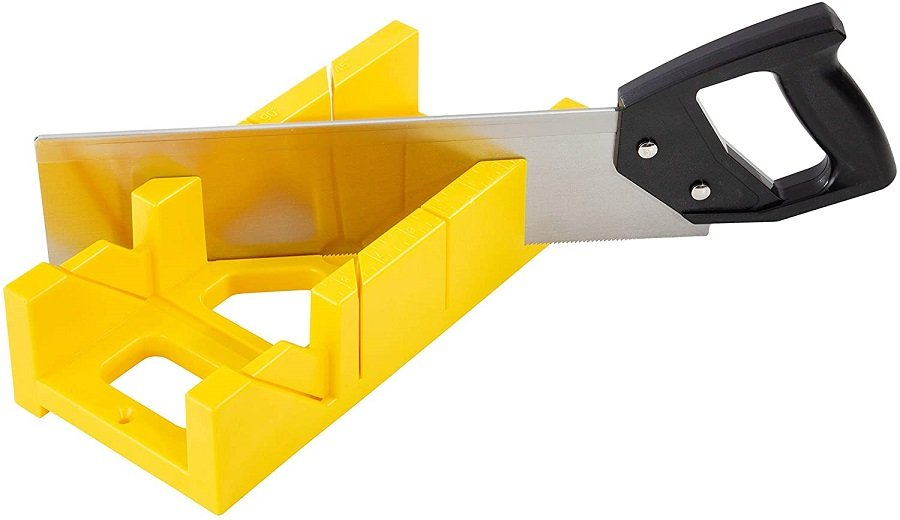 This is a miter box.  It's a simple but effective tool used for making joints.  It's perfect for those on a budget.