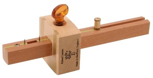 This is a marking gauge, it's a useful tool for basic and advanced joint making.